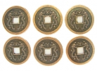 6 of Double Dragon Coins (I ching Coins)