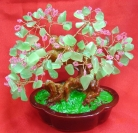 Large Aventurine Gem Tree