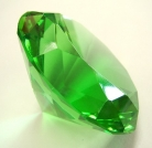 Green Crystal Paperweight