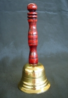 Feng Shui Bell with Wooden Handle