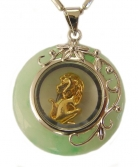 Golden Monkey Pendant