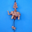 Small Elephant Charm as Cell Phone Charm