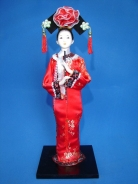 Chinese Collectible Doll with Flute