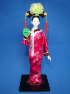 Chinese Collectible Doll in Walking