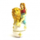 Bejeweled Horoscope Leo Statue