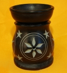 Black Stone Aroma Lamp for Oil