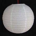 2 of White Paper Lanterns