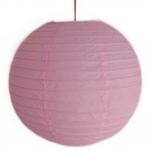 2 of Light Pink Paper Lanterns