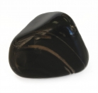 Black Onyx Tumbled Polished Natural Stone