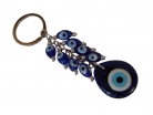 Blue Evil Eye Protection Keychain