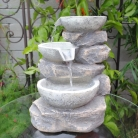 Multi Bowls Tabletop Fountain