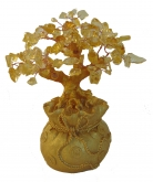 Citrine Tree in Money Bag