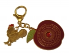 Peace and Anti-Conflict Amulet Keychain