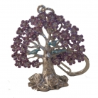 NGAN CHI Wealth Tree KeyChain Amulet