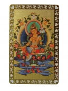 Yellow Tara Talisman Card