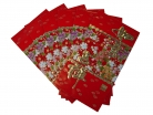 Big Chinese Money Envelopes with Flower Pictures