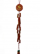 New Year Charm - Lucky Fireworks with Bagua Charm