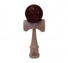 Red/Black Crackle Kendama
