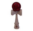 Black/Red Crackle Kendama