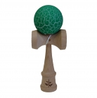 White/Green Crackle Kendama