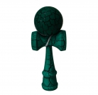 Full Print Black/Green Crackle Kendama