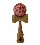Red/White Leopard Kendama