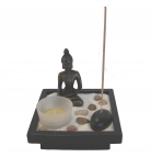 Small Desktop Zen Garden with Thai Buddha Statue