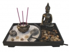 Desktop Zen Garden with Thai Buddha Statue