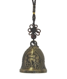 Bell Charm with Image of Double Fishes