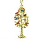 Wealth Tree Amulet Keychain