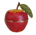 Bejeweled Cloisonne Apple