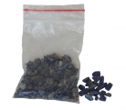 Small Blue Lapis Tumbled Chip Crushed Stones