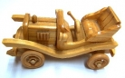 Hand Made Movable Wooden Cars