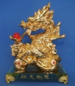 Golden Dragon on Ru Yi