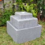 Square Shape Fountain with LED Lights