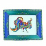 Colourful Rooster Tray